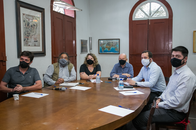 Reunião com o Promotor Dr. Daniel Rodrigues - Impactos Ambientais e Sociais da Vale no Distrito de Engenheiro Correa