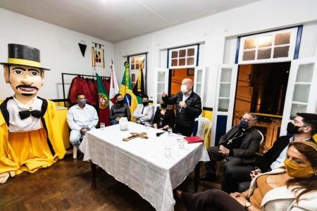 Centro de Memória do Zé Pereira do Club dos Lacaios é inaugurado