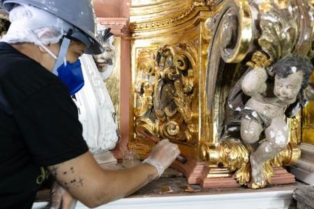 Iphan visita obras do Santuário de Nossa Senhora da Conceição em Ouro Preto e Prefeitura quer ampliar parceria