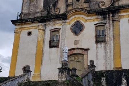Seminário debate colocação de réplicas dos evangelistas no adro da Igreja de São Francisco de Paula