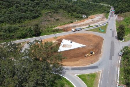 Obras no trevo de Ouro Preto entram em fase final