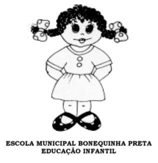 Logo da E.M.E.I. BONEQUINHA PRETA